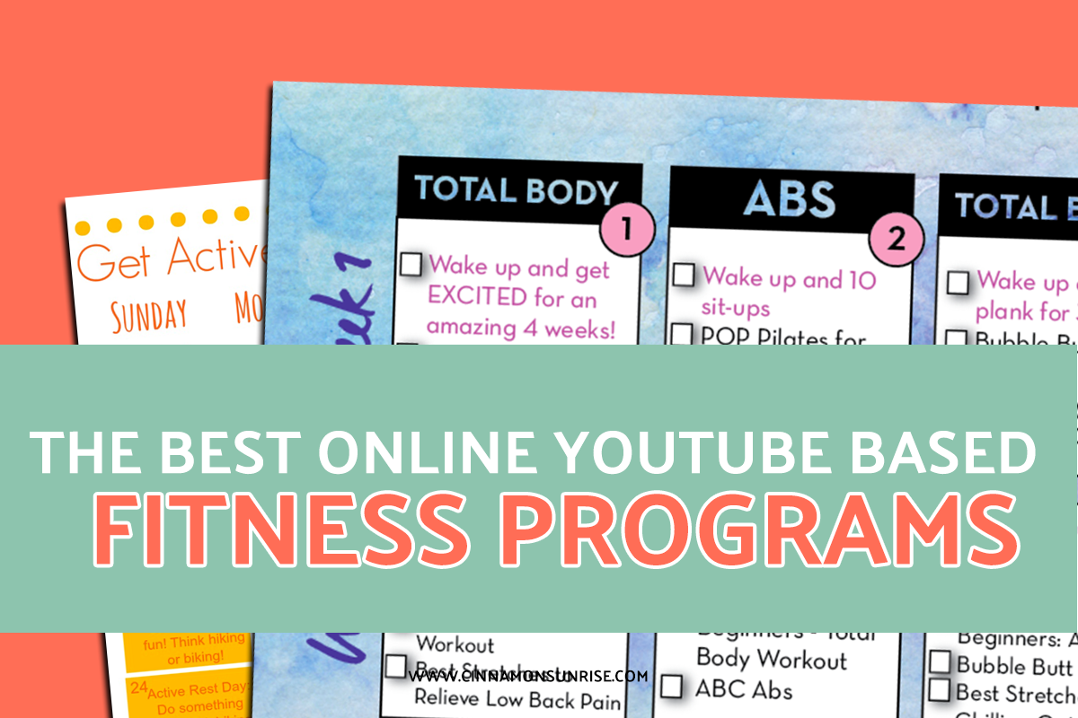 Best Online YouTube Fitness Programs!