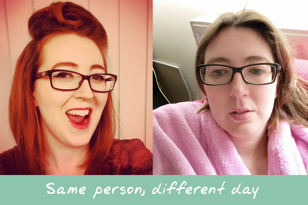 same person, different day