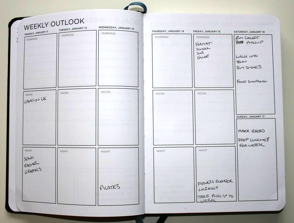 Spark Planner - Weekly