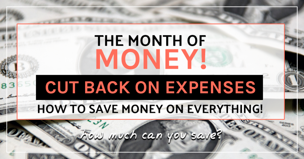 How to cut back on expenses