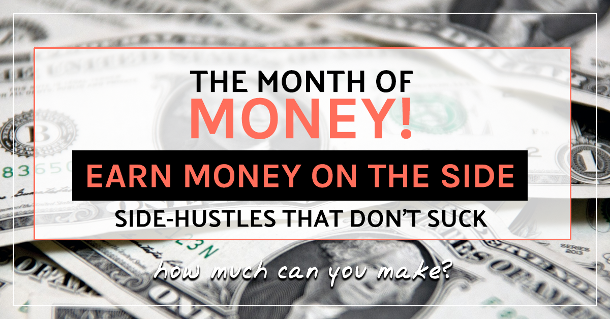 How to earn money on the side: side-hustles that don't suck