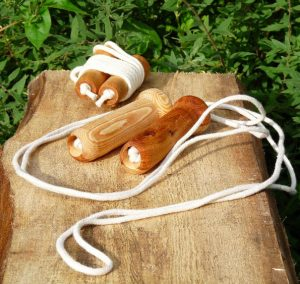 Hand made skipping rope gift idea