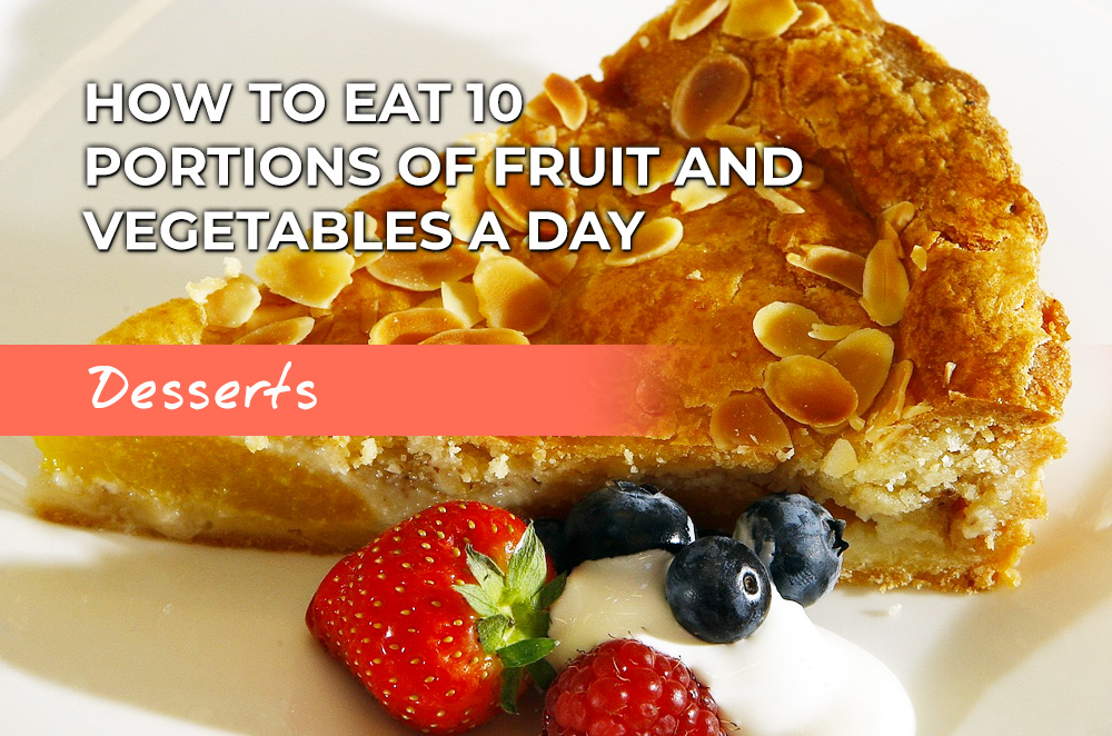Dessert ideas to help you eat 10 portions of fruit and veg a day