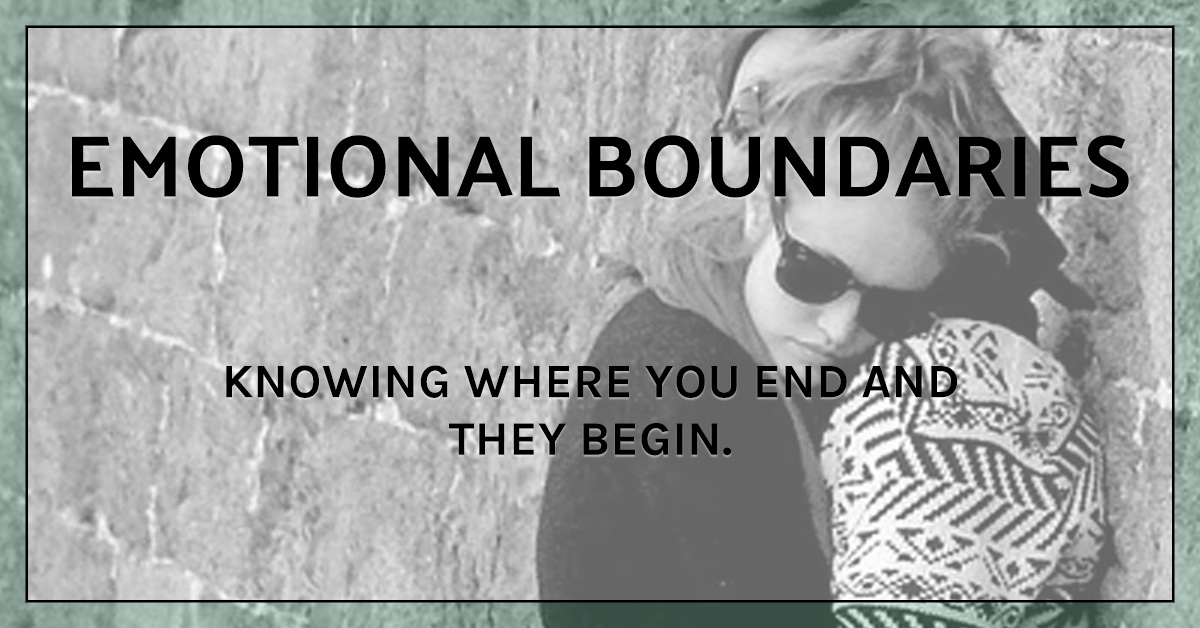 How to set healthy boundaries: Emotional Boundaries