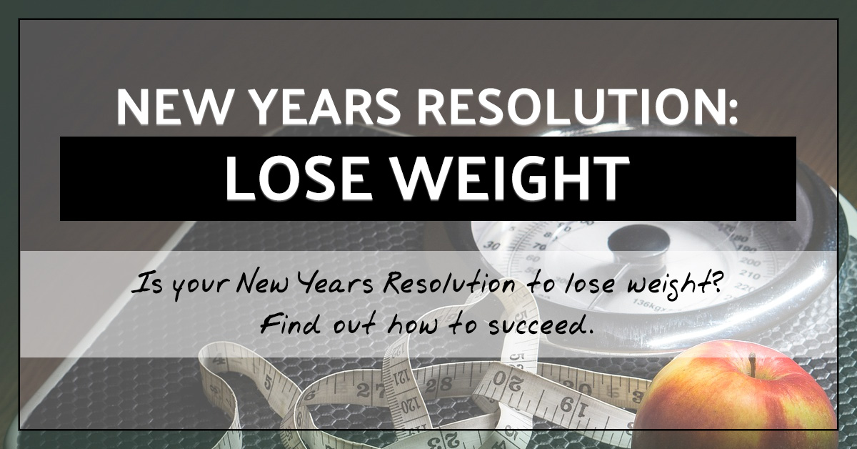 New Years Resolution: Lose Weight