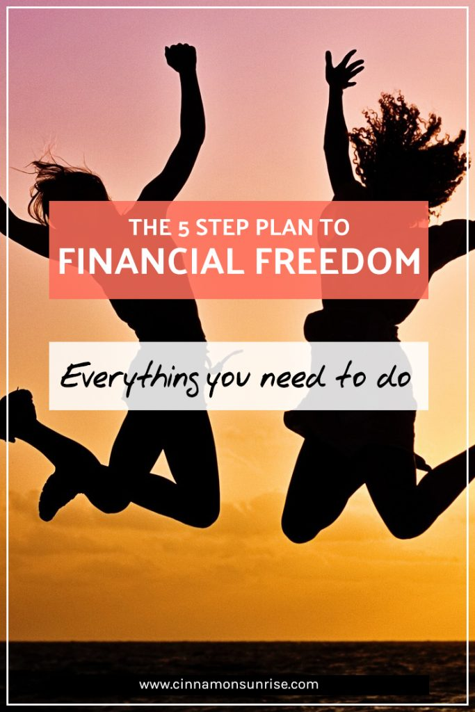 The 5 steps to Financial Freedom