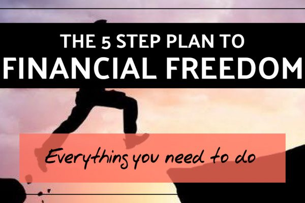 The 5-Step Plan to Financial Freedom.