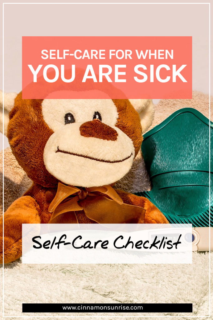Self-Care for when you are Sick